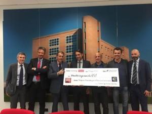 image002-300x225 Donati 35mila euro alla Fondazione Piemontese per la Ricerca sul Cancro
