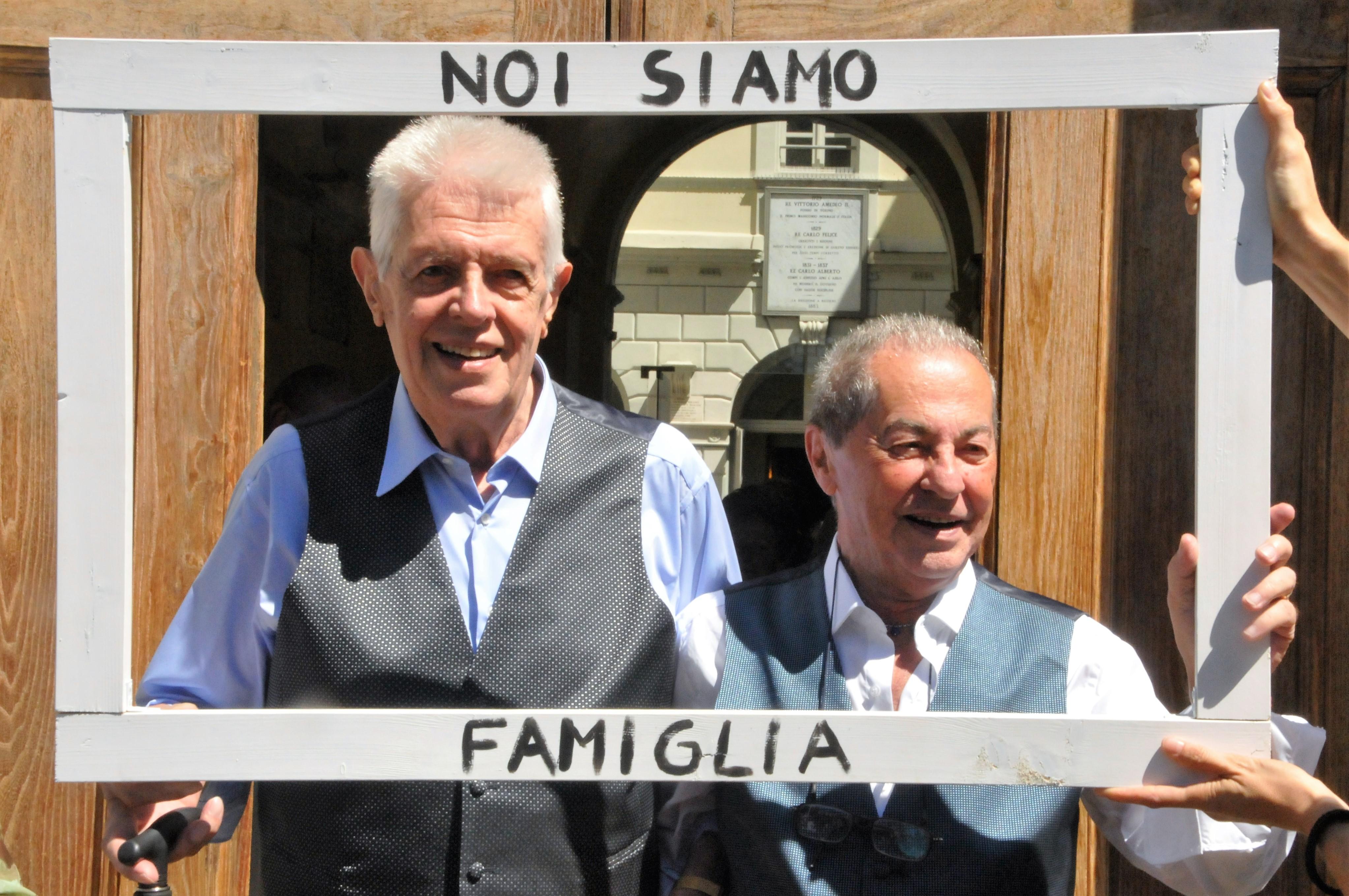 Prima unione civile a Torino, Gianni e Franco 80enni felici