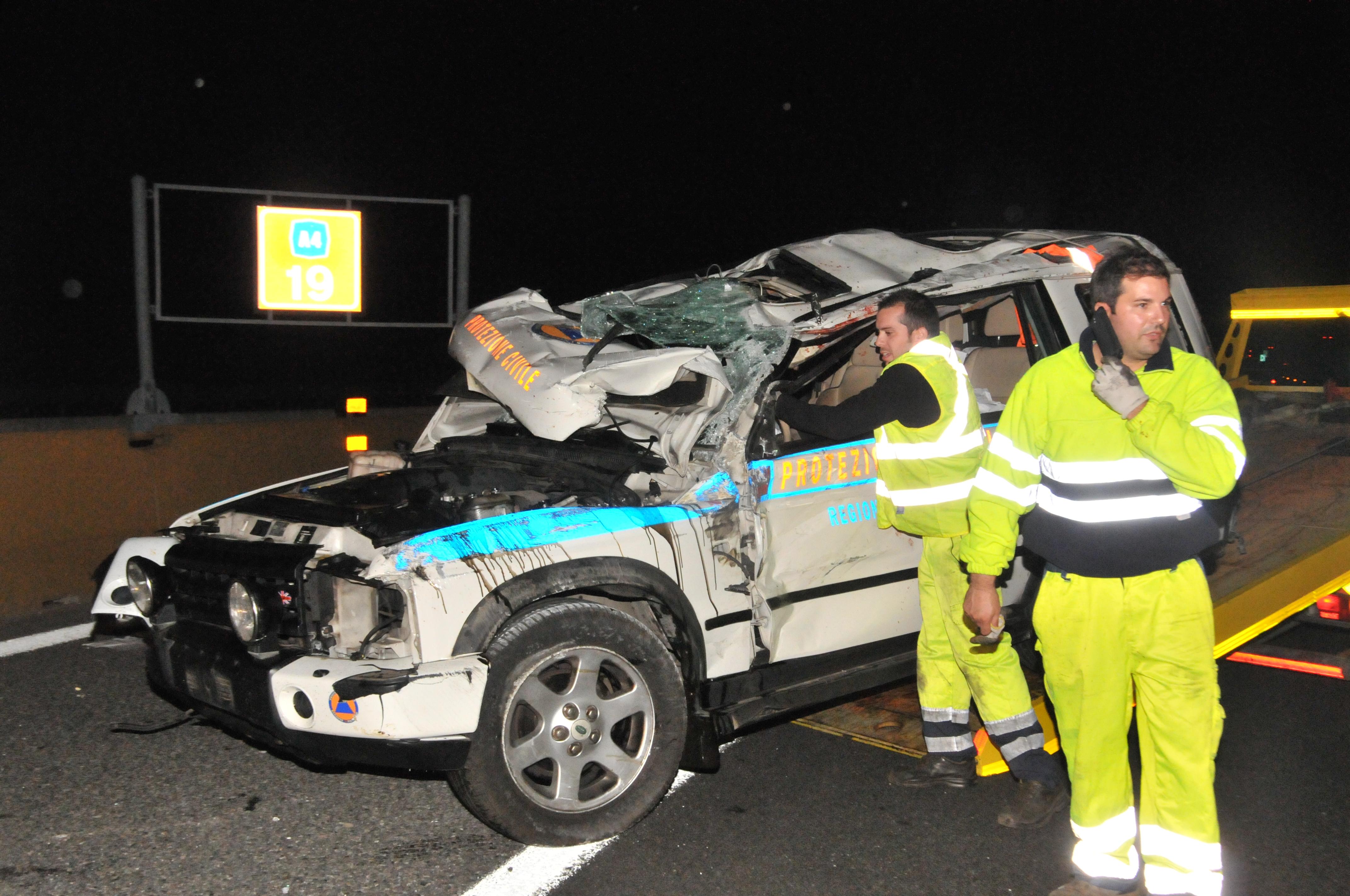 Terremoto: ingegnere muore in incidente, rientrava da Amatrice