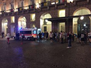 Disordini piazza San Carlo