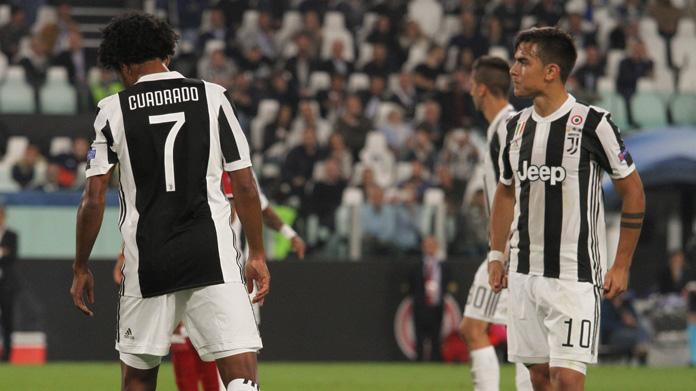cuadrado-dybala Inter-Juve, Dybala- Higuain show. Male Bernardeschi. Top e Flop