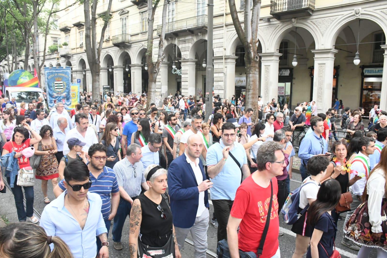 Torino  Gay Pride 2019 corteo