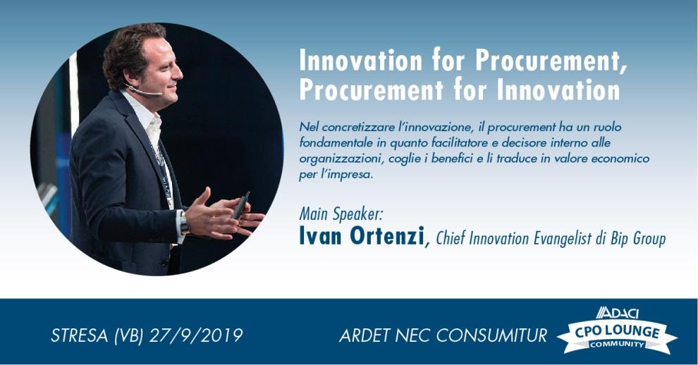 Ivan-Ortenzi A Stresa Direttori Acquisti e Logistici in equilibrio fra innovazione e sostenibilità