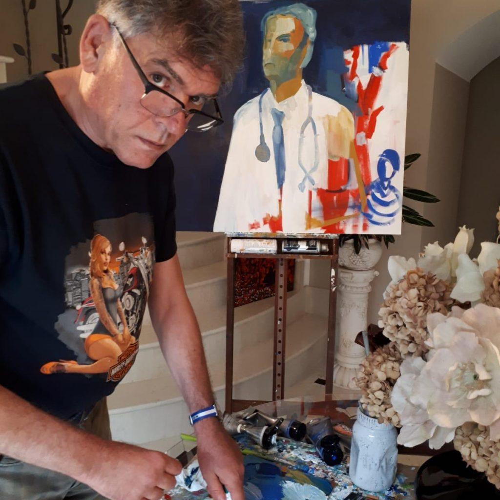 """Pier-Tancredi-1024x1024 """"L'arte di stare a casa"""" secondo un pittore"""