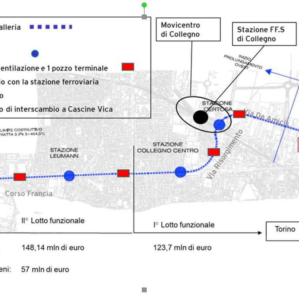 Metropolitana-Ovest-1024x1024 Torino: Metropolitana, concluso il primo tratto di galleria fino alla stazione Certosa